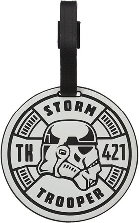 Amazon.com   American Tourister Star Wars Luggage Tag, Storm Trooper, One Size   Luggage Tags