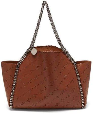 Falabella Reversible Faux Leather Tote - Womens - Tan