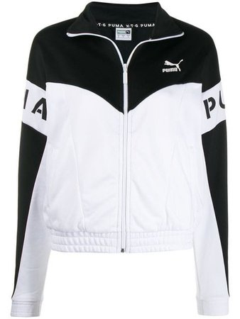 Puma monochrome zip-front jacket $48 - Shop SS19 Online - Fast Delivery, Price