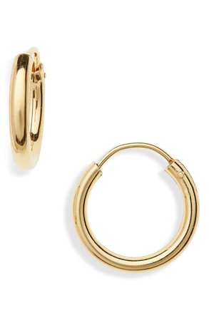Argento Vivo Milano Sterling Hoop Earrings | Nordstrom