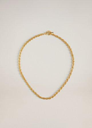 Link chain necklace - Women | Mango