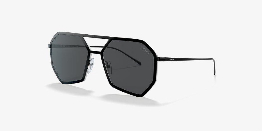 Prada PR 62XS Grey-Black & Black Sunglasses | Sunglass Hut USA