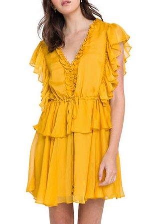 Endless Rose Solid Mini Dress