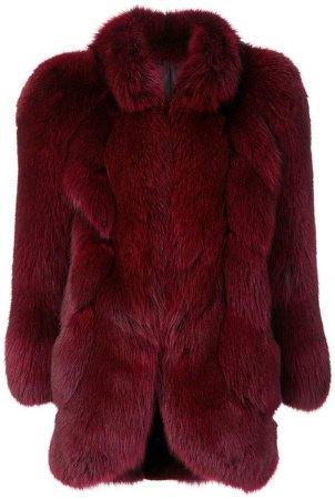 Pre-Owned fox fur coat