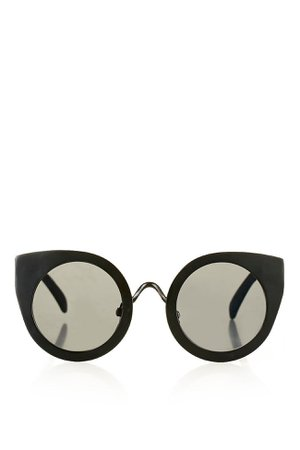 MARVIS Metal Feline Sunglasses | Topshop