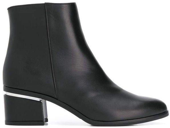 block-heel ankle boots