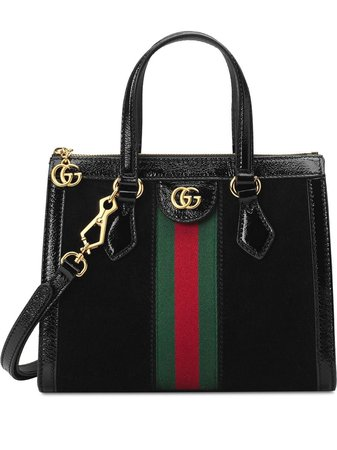 Gucci Ophidia small tote bag black 547551D6ZYB - Farfetch
