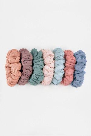 SCRUNCHSET - Garment Dye Scrunchie Set – Los Angeles Apparel