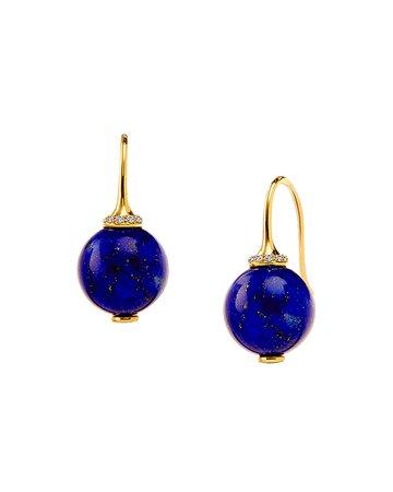 Syna Mogul Bead Dangle Earrings