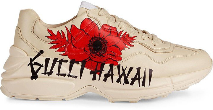 Rhyton Hawaii-print sneakers