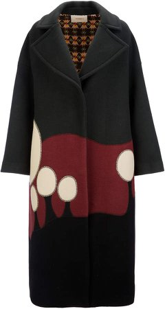 La DoubleJ Allegra Oversized Wool-Blend Coat
