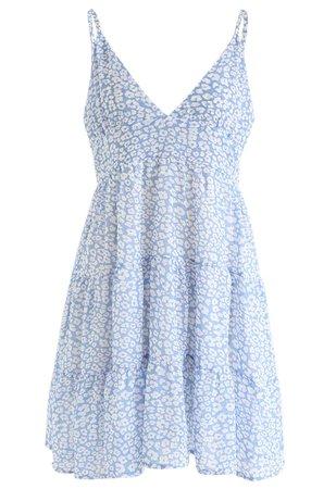 Enchanted Floret Chiffon Mini Cami Dress - Retro, Indie and Unique Fashion
