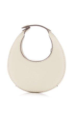 Micro Moon Leather Top Handle Bag By Staud | Moda Operandi