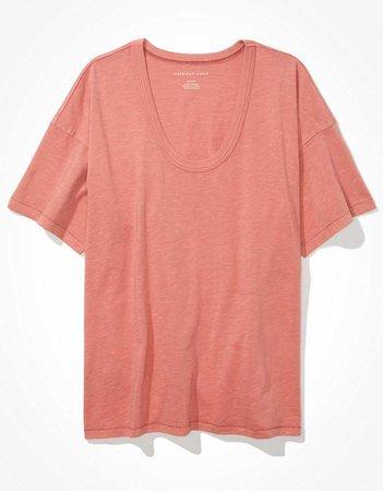 AE Oversized Scoop Neck T-Shirt