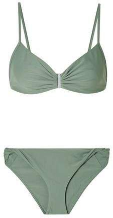 Embellished Ruched Bikini