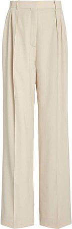 The Row Ewan Wool Wide-Leg Pants