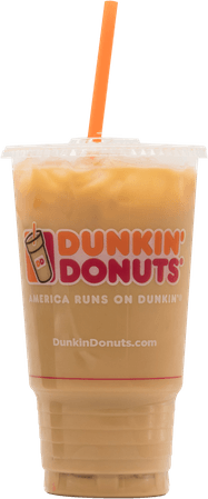 transparent dunkin iced coffee - Google Search