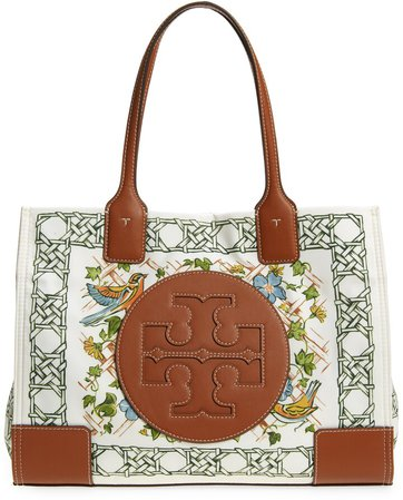 Mini Ella Print Recycled Polyester Tote