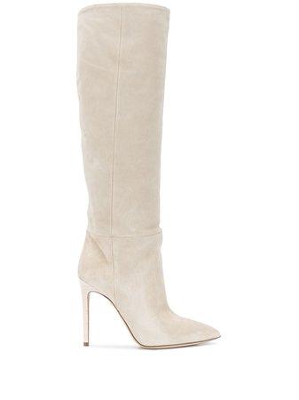 Paris Texas, Suede Stiletto Boots