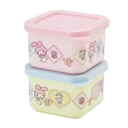 BUY JAPANESE - Cute pastel color My Melody lunch box ...