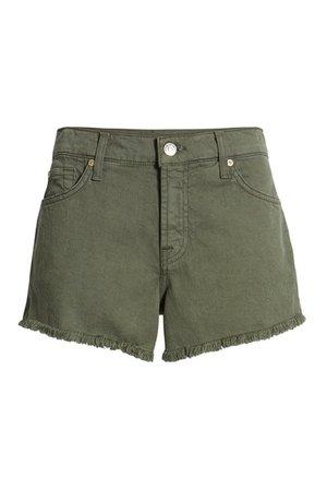 7 For All Mankind | High Waist Cutoff Denim Shorts | Nordstrom Rack