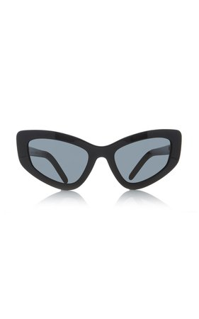 Cat-Eye Acetate Sunglasses by Prada | Moda Operandi