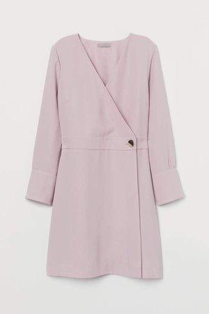 Wrap Dress - Pink