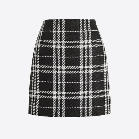 J.Crew Factory: Plaid mini skirt
