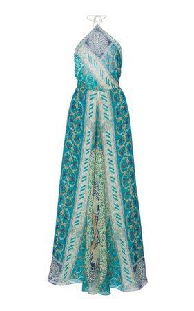 Printed Silk Halter Dress By Etro | Moda Operandi