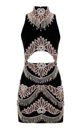 Cutout Knit Mini Dress by Raisa Vanessa | Moda Operandi