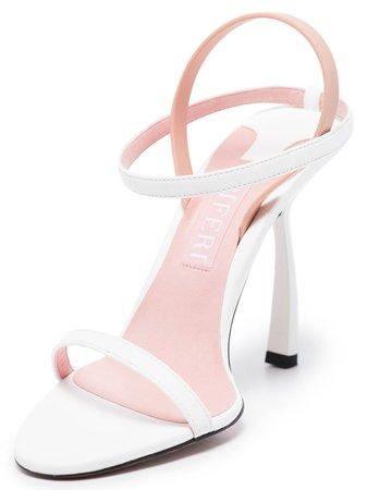 Piferi White Fantasia 100 Sandals - Farfetch