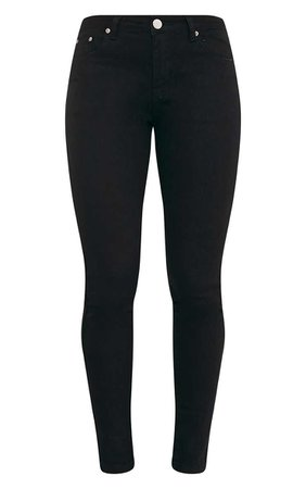 Black Skinny Fit Jean - Jeans - PrettylittleThing   PrettyLittleThing