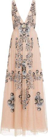 Cucculelli Shaheen Silver Anemone Dress