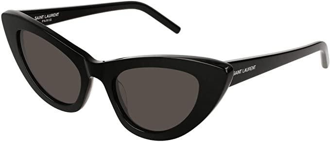 Amazon.com: Saint Laurent SL 213 Lily Black One Size: Clothing