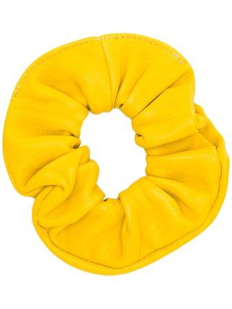 Manokhi Leather Scrunchie
