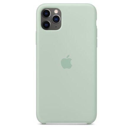 iPhone 11 Pro Max Silicone Case - Beryl - Apple