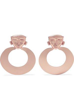 Johanna Ortiz | Rose gold-tone earrings | NET-A-PORTER.COM