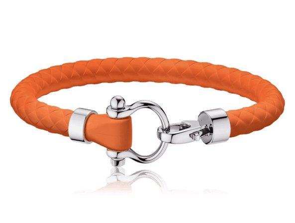 omega bracelet orange