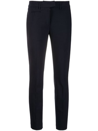 Blue Dondup tailored slim-fit trousers - Farfetch