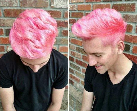 pink hair men - Google Search