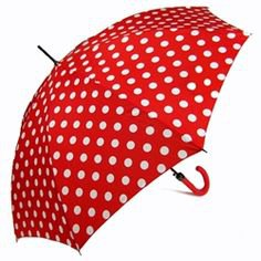 red dotsw rain umbrella - Google Search