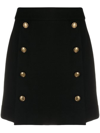 Givenchy, button-front skirt