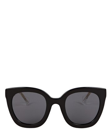 Gucci Oversized Cat Eye Sunglasses | INTERMIX®