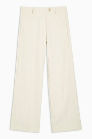 **Ivory Menswear Style Pants by Topshop Boutique | Topshop