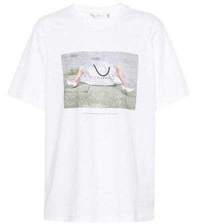 10th Anniversary cotton T-shirt