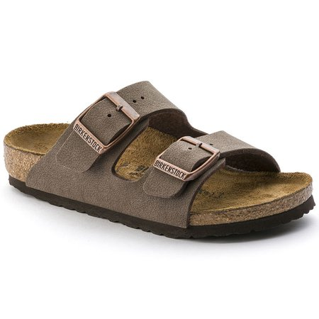 Arizona Birko-Flor Nubuck Mocha | shop online at BIRKENSTOCK