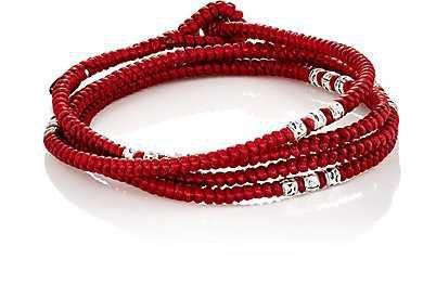 mens red bracelet