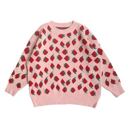 Strawberry Fields Sweater – Boogzel Apparel
