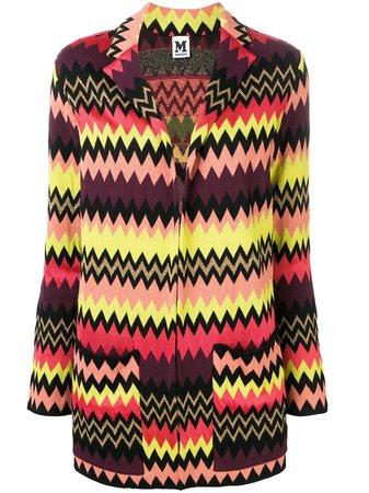 M Missoni Zigzag Cardigan-blazer | Farfetch.com