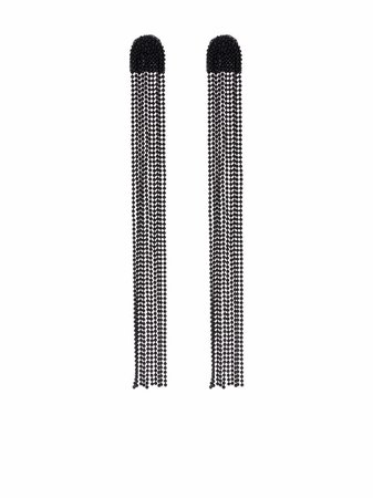 Fabiana Filippi ball-chain embellished earrings - FARFETCH